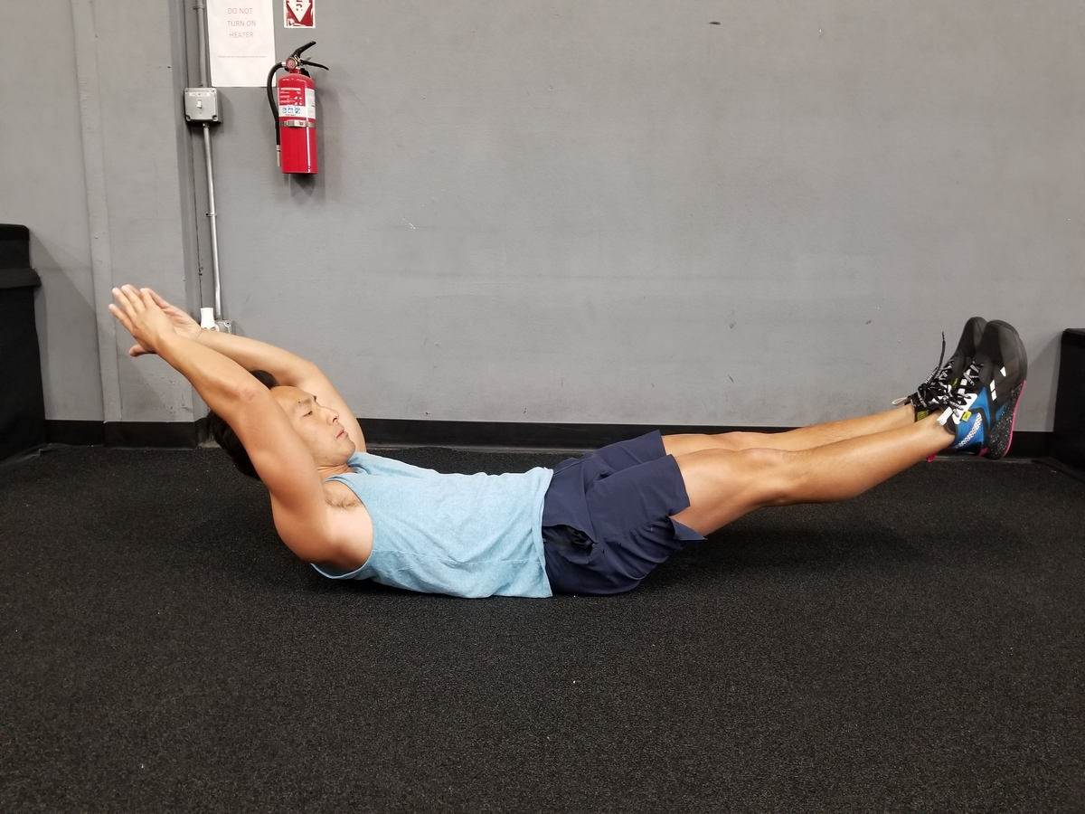 1 Hollow Body Hold