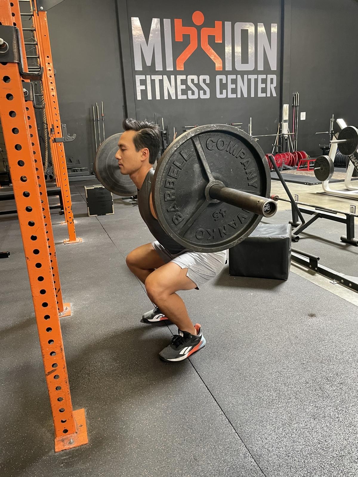 18 - barbell back squat