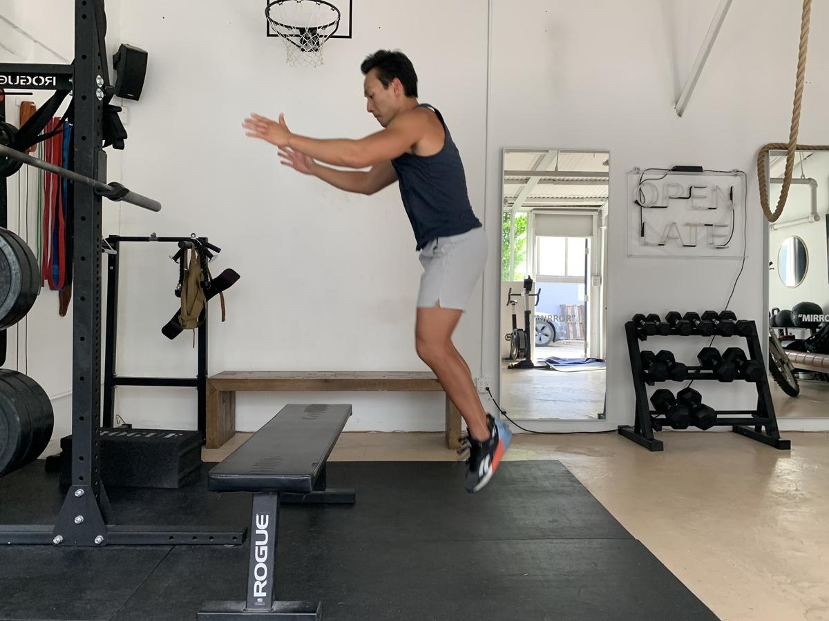 2 box jumps