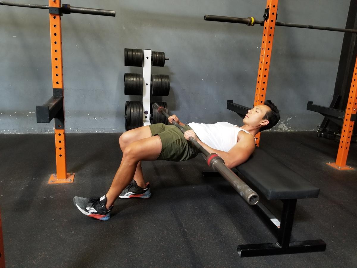 3 b-stance hip thrust