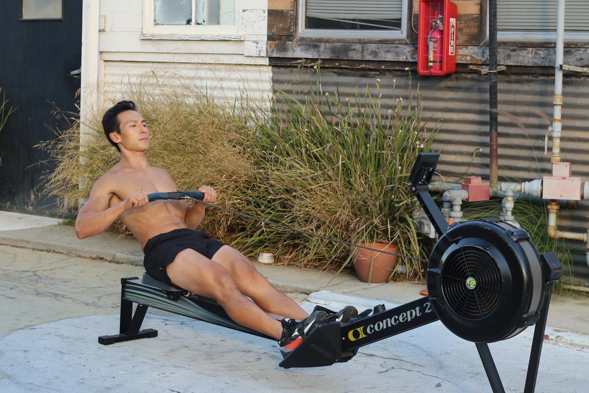 3 rowing machine