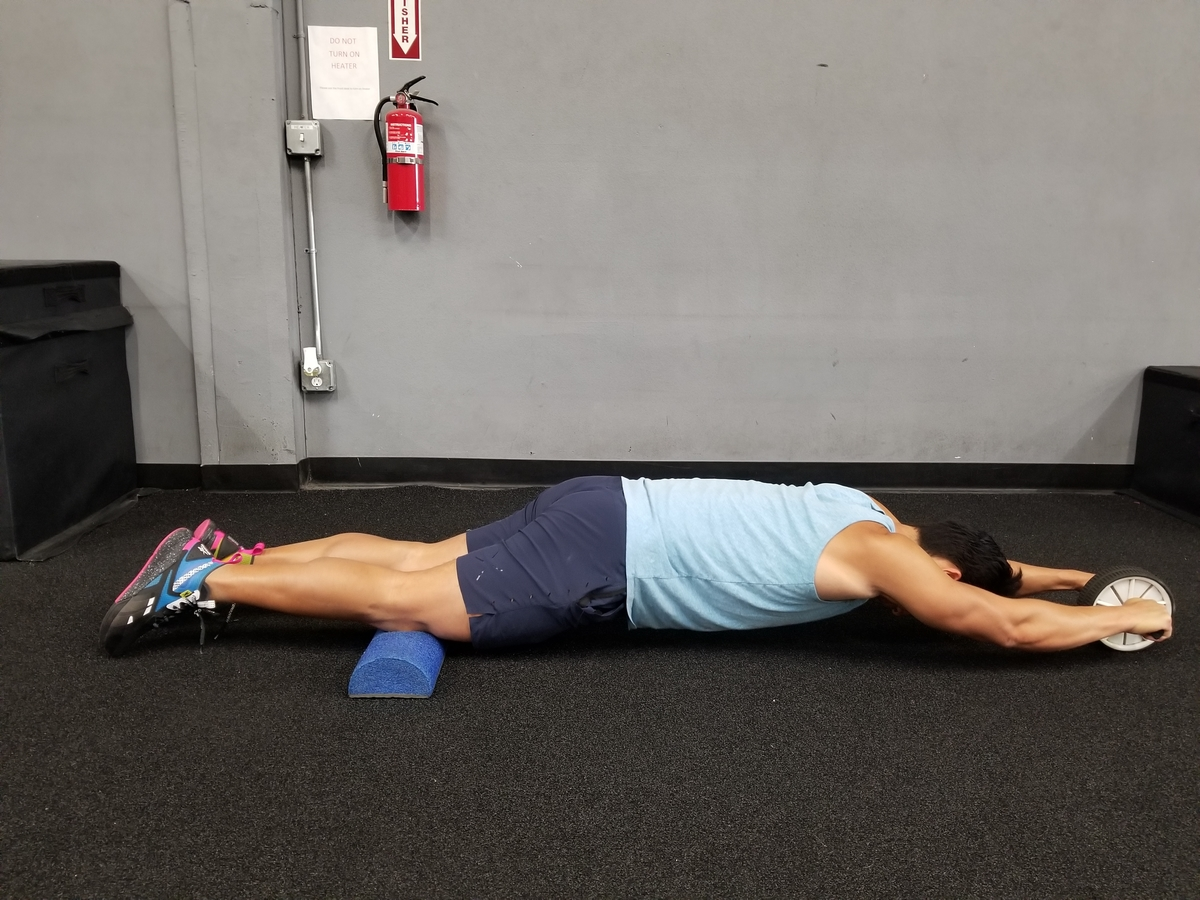ab wheel rollout abs exercise