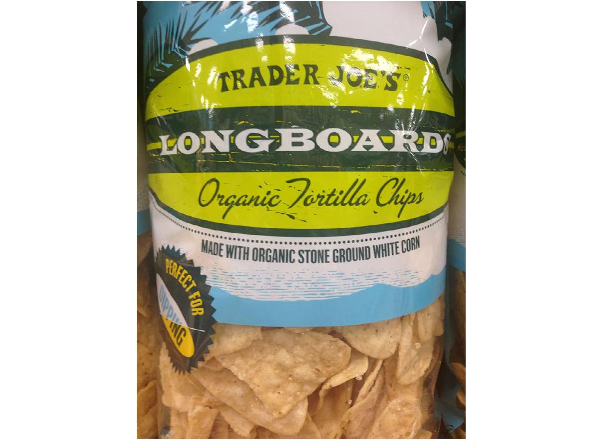 Trader Joe's Longboards Organic Tortilla Chips