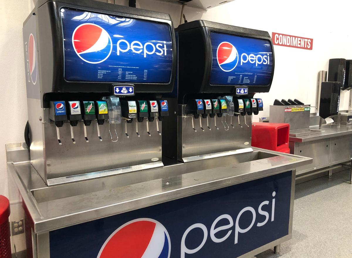 Costco food court soda machines