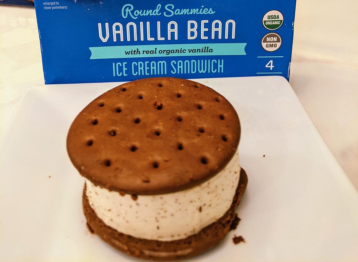 aldens organic ice cream sandwich