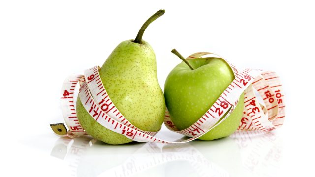 Compare,An,Apple,To,A,Pear, ,Measuring,Tape,On