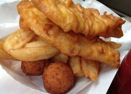arthur treachers fish chips