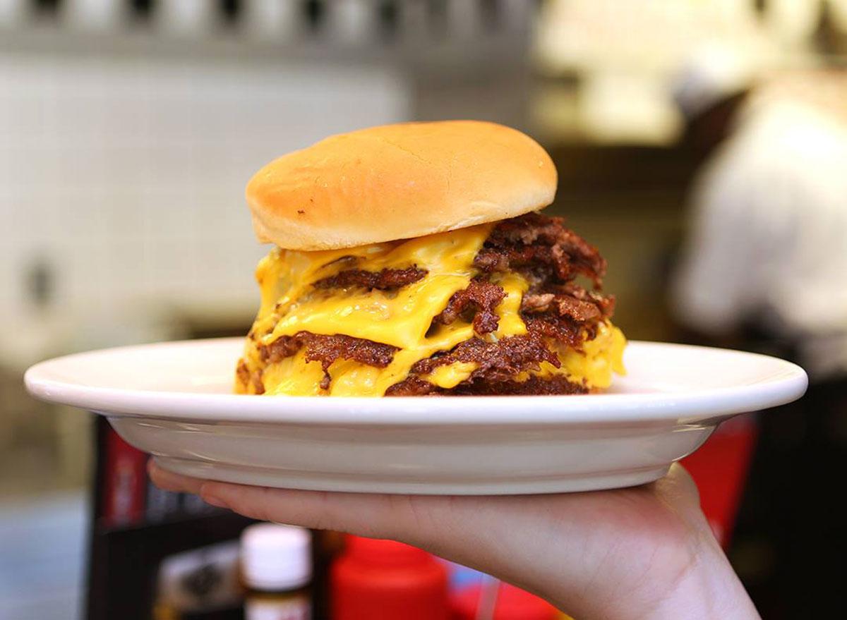 burger steak n shake