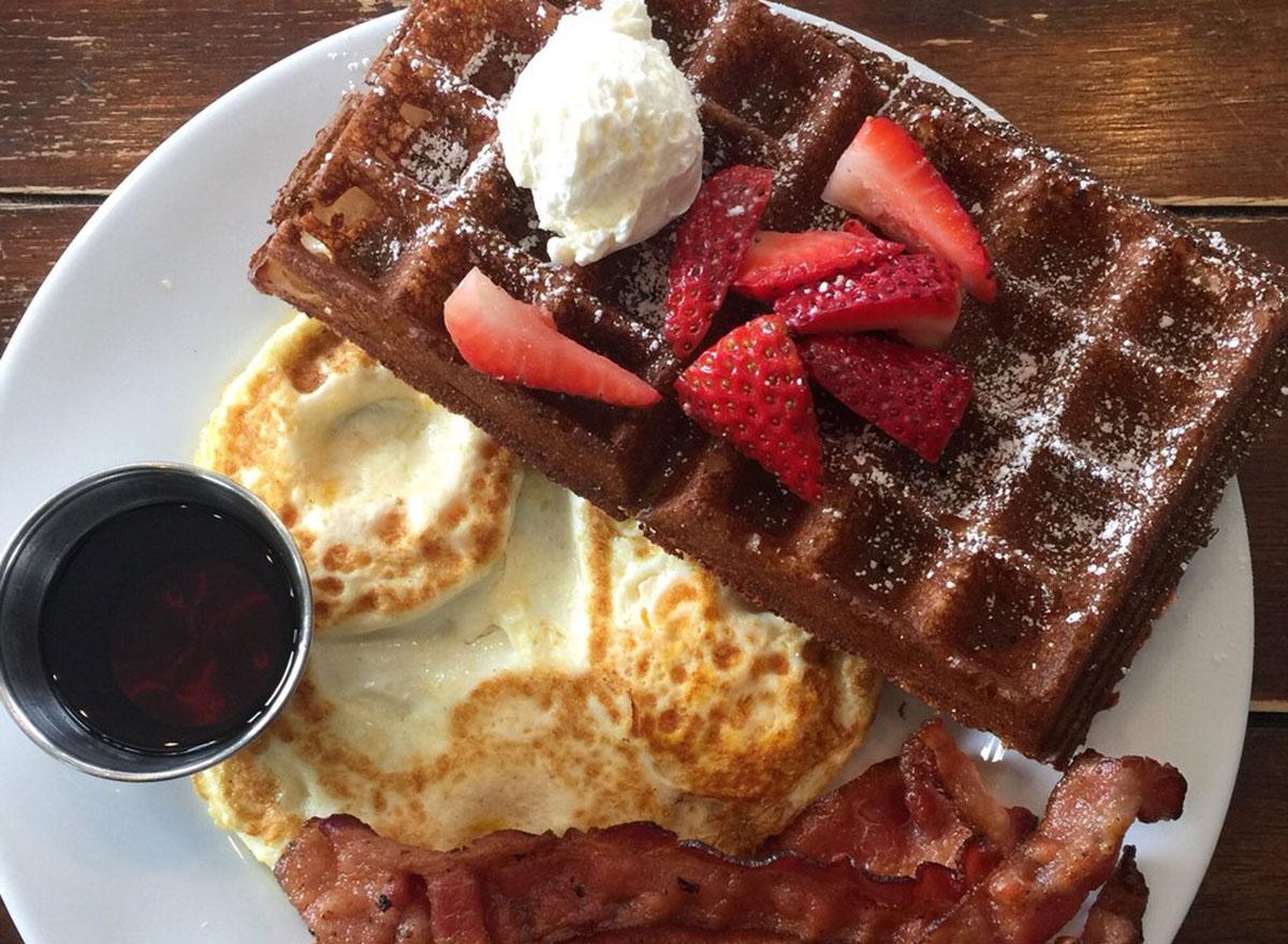 california waffles