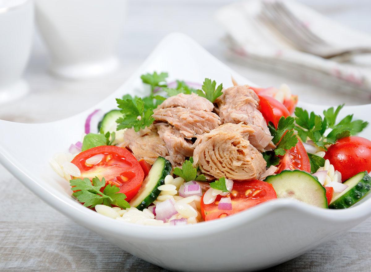 canned tuna salad