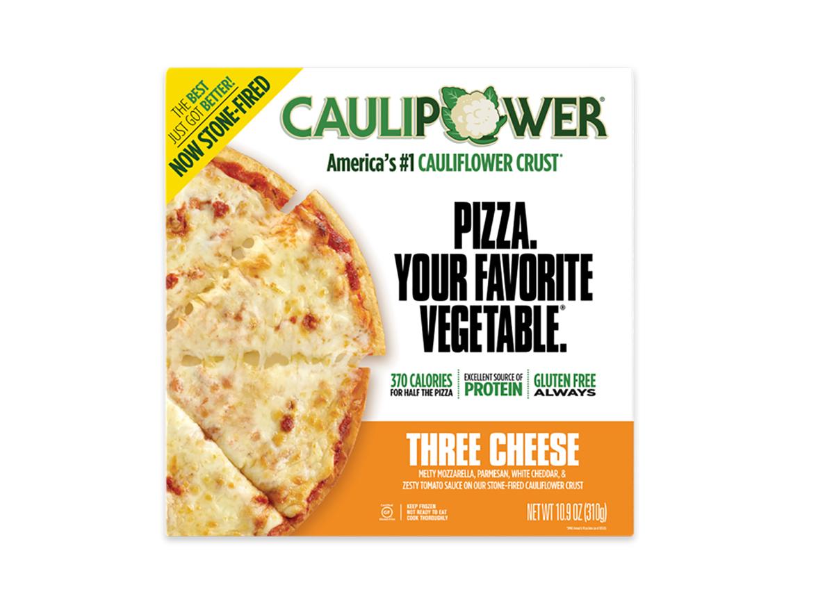 caulipower frozen three cheese pizza