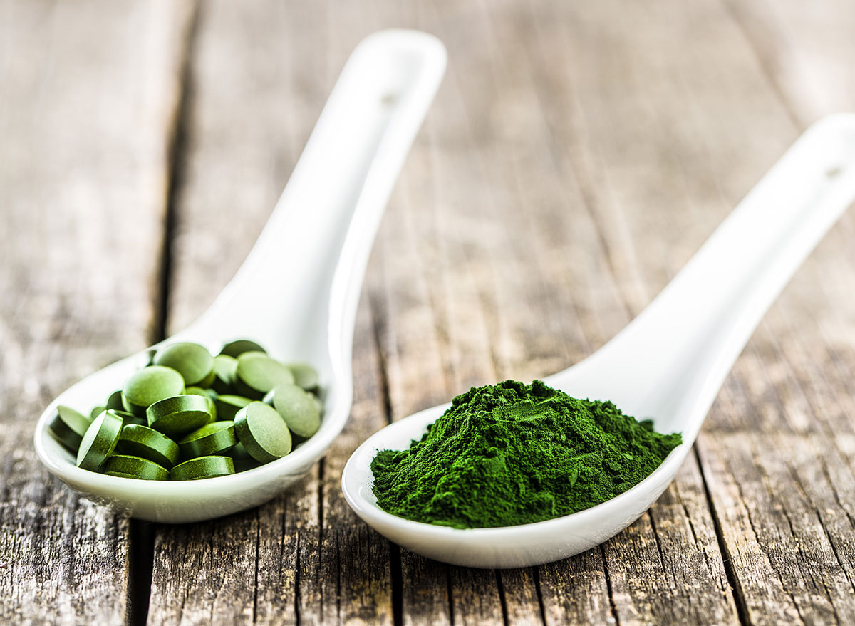 chlorella supplement