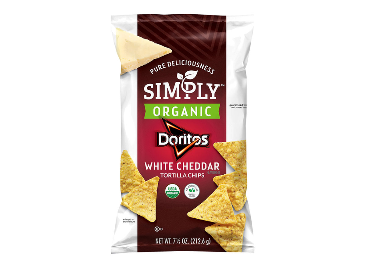 doritos simply organic white cheddar