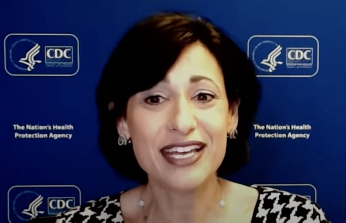Dr. Rochelle Walensky, director of the Centers for Disease Control and Prevention