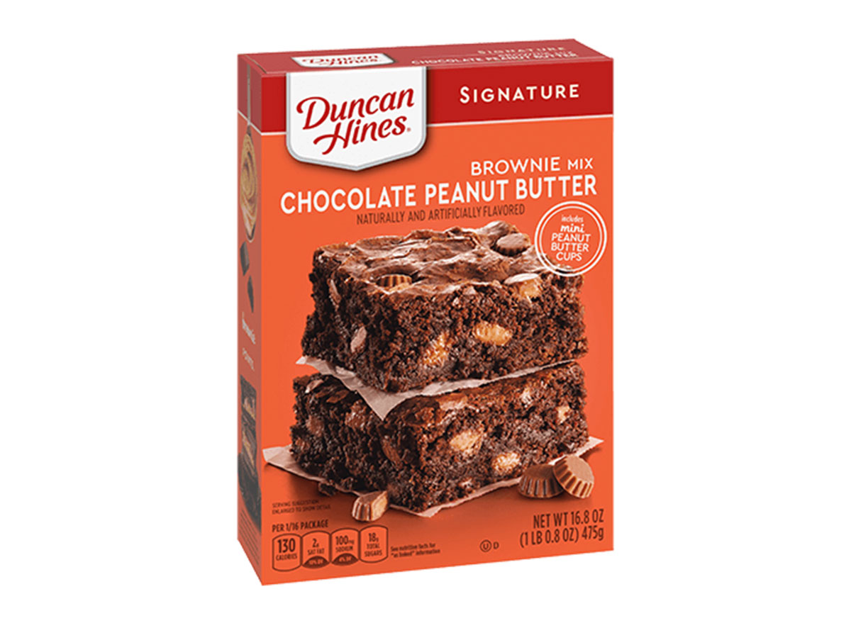 duncan hines chocolate peanut butter brownies