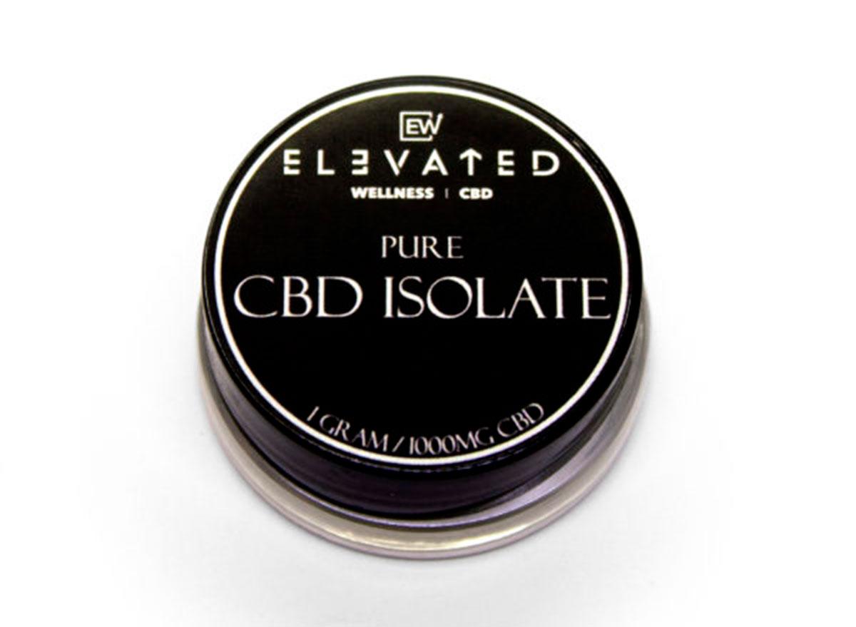 elevated cbd isolate