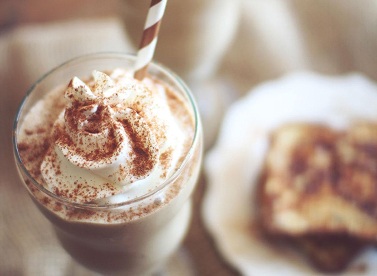 french toast protein shake