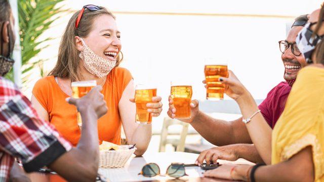 Friends craft beer