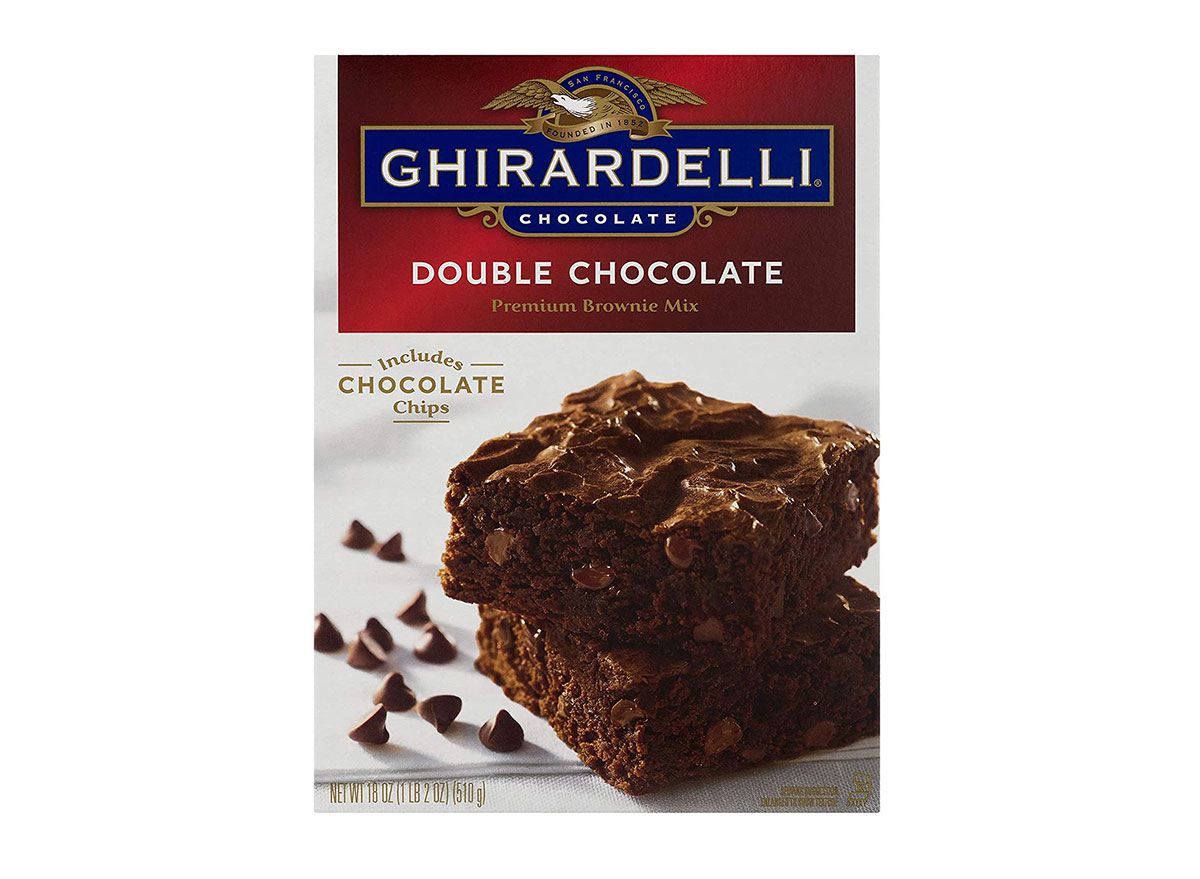 ghirardelli double chocolate brownies