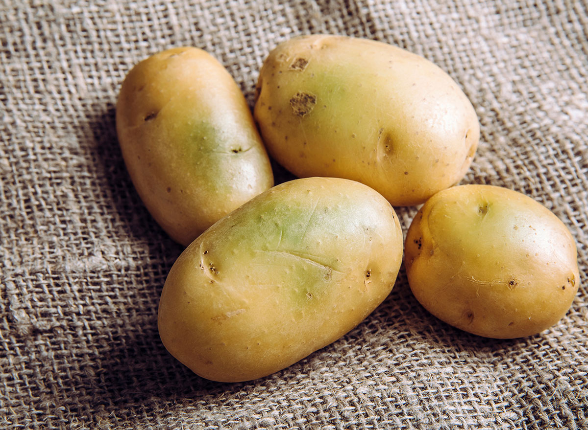 You Should Never Eat a Potato That Looks Like This, Says Science   Eat This Not That