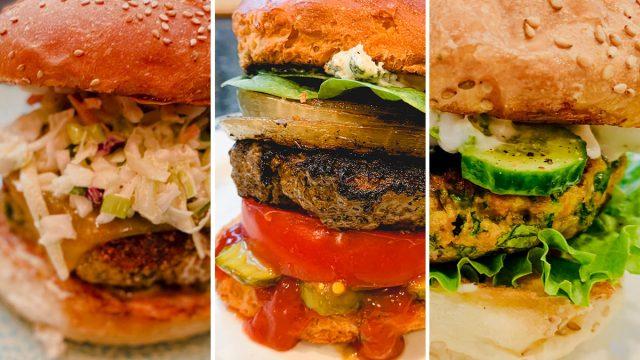 Healthy burgers memorial day