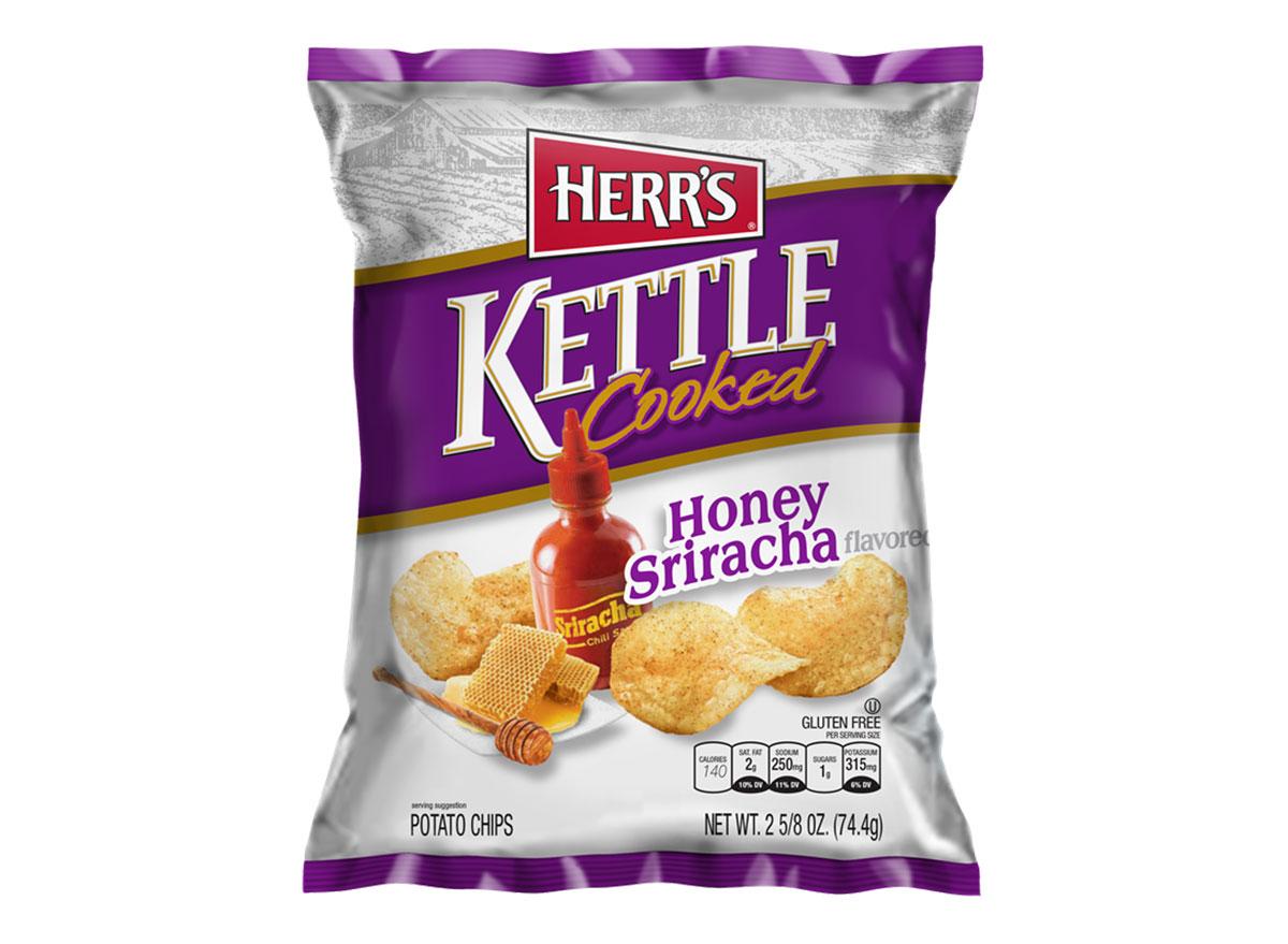 herrs kettle cooked honey sriracha