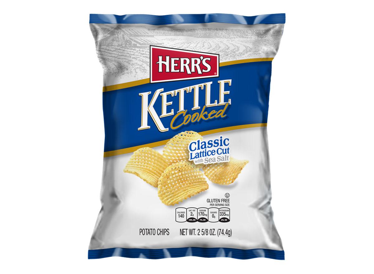 herrs kettle cooked lattice cut classic