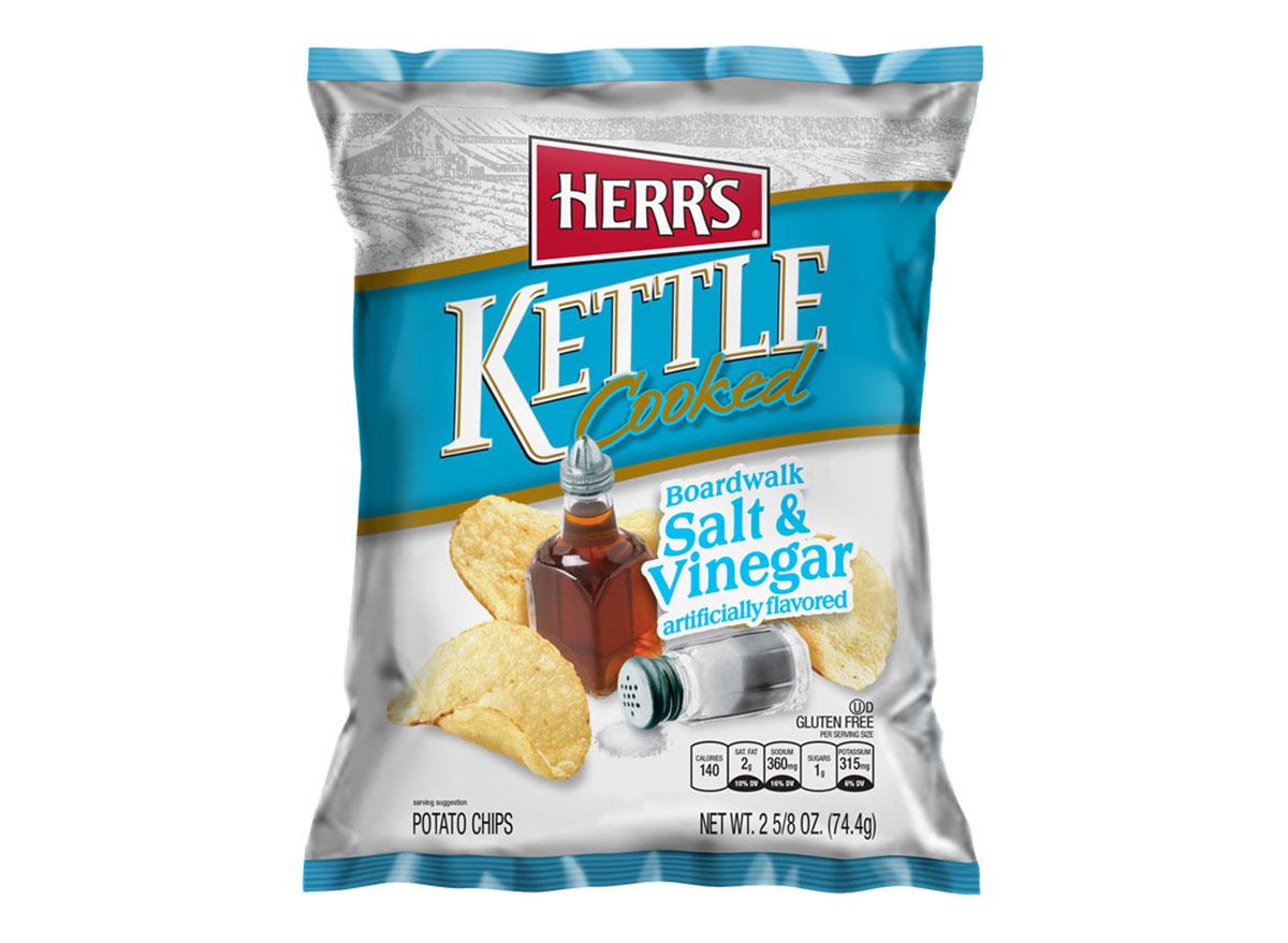 herrs kettle cooked salt vinegar