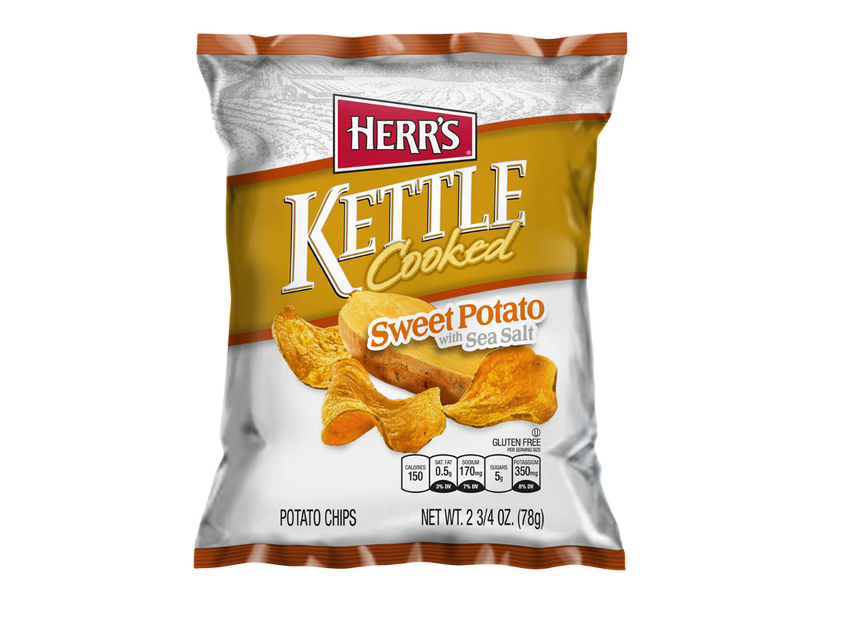 herrs kettle cooked sweet potato