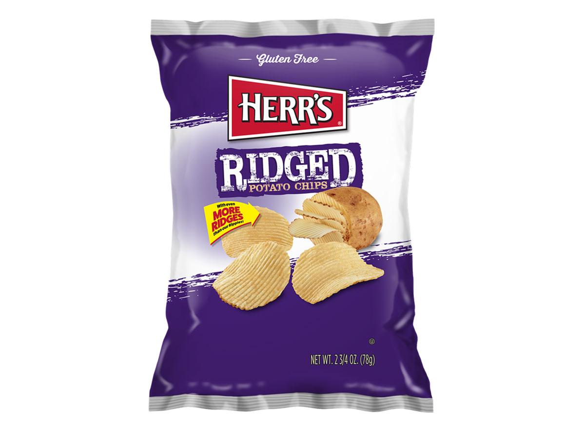 herrs ridged potato chips
