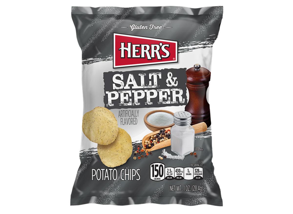 herrs salt pepper