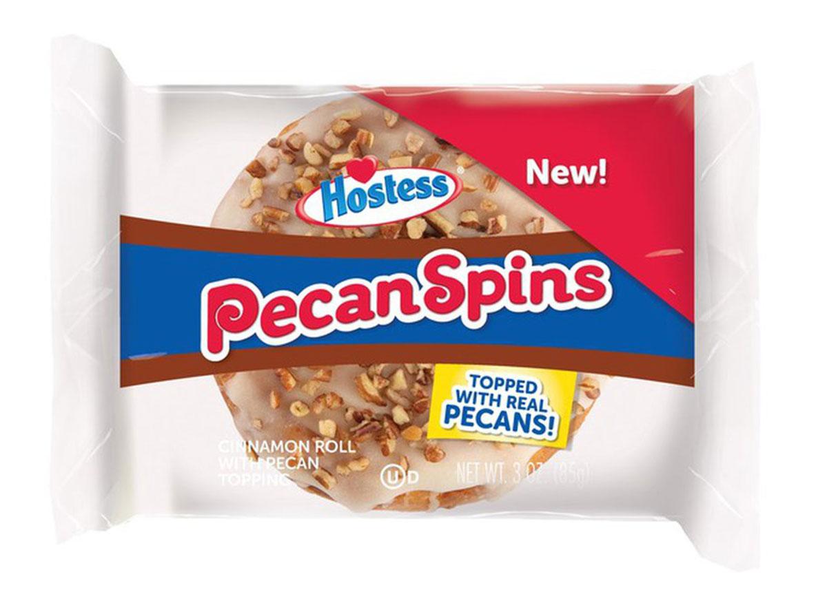hostess pecan spins