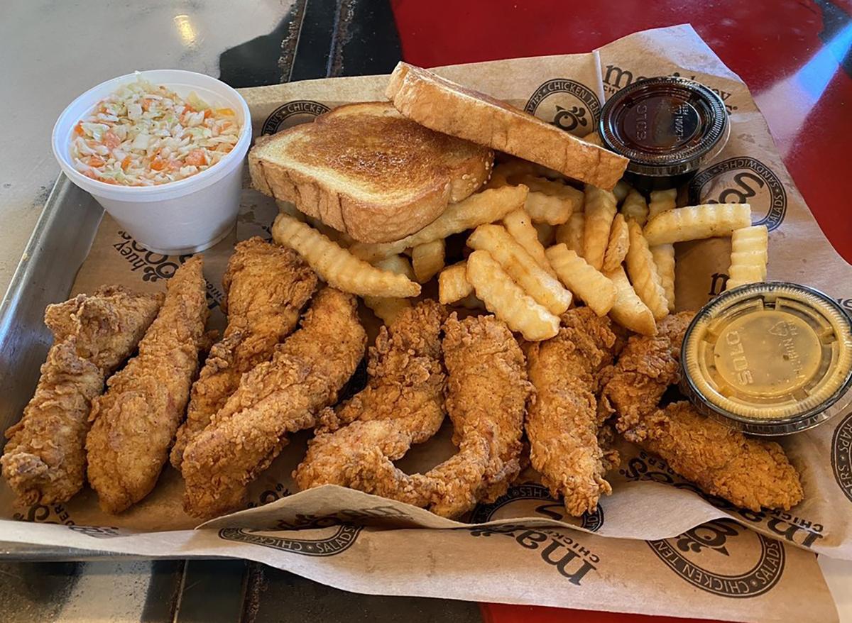 basket of chicken tenders