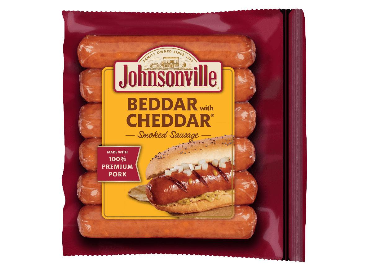 johnsonville beddar cheddar