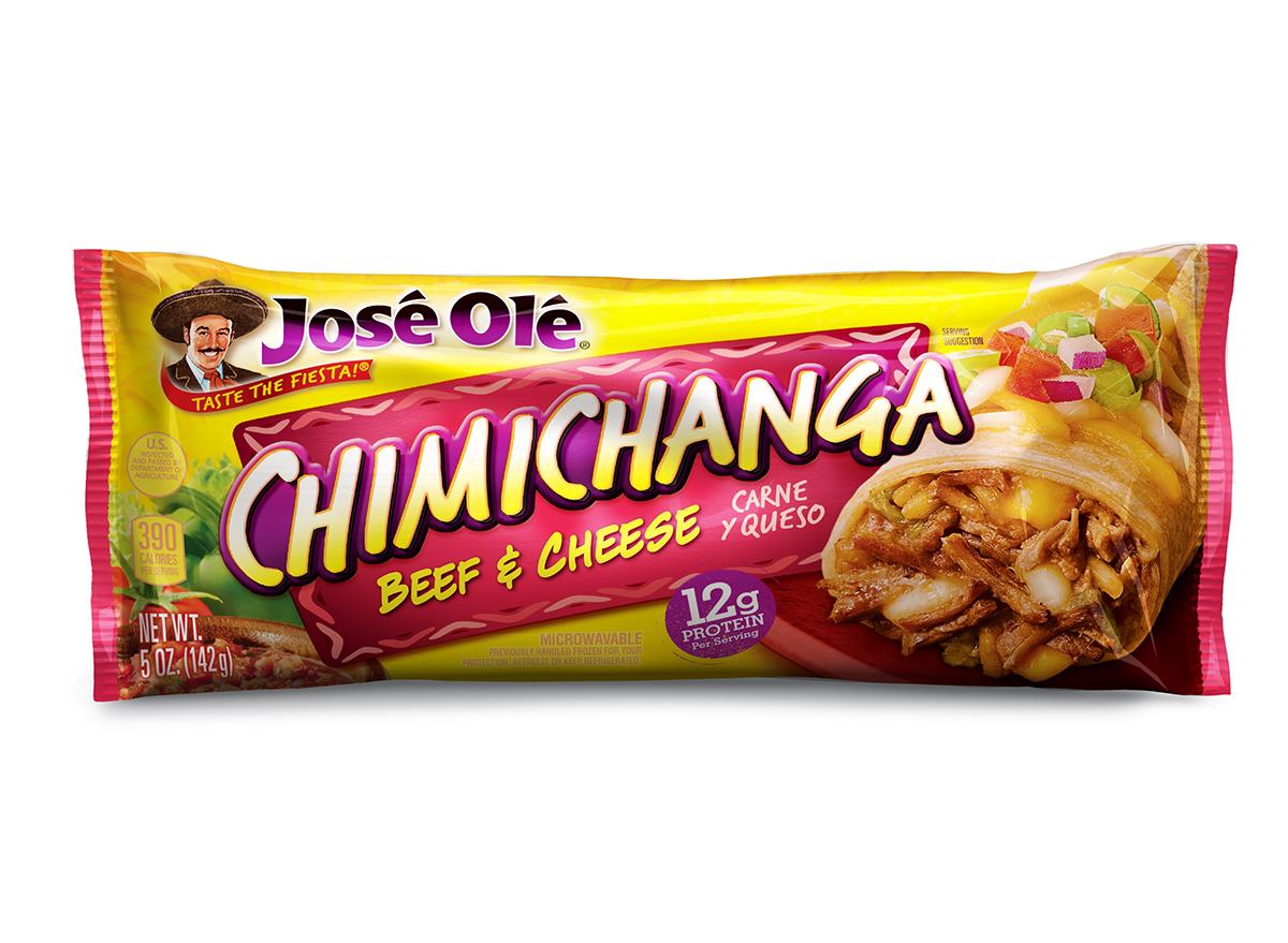 jose ole frozen chimichanga