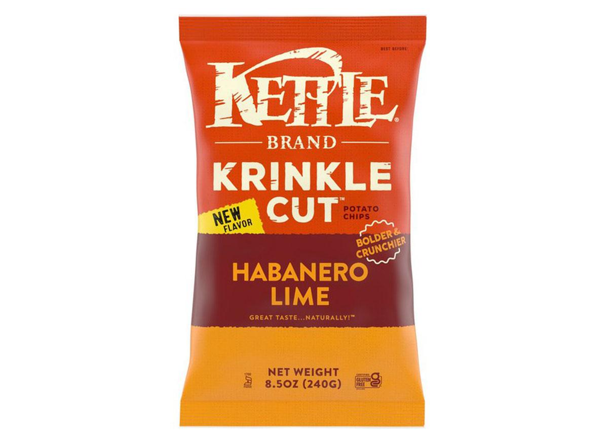 kettle brand krinkle cut habanero lime