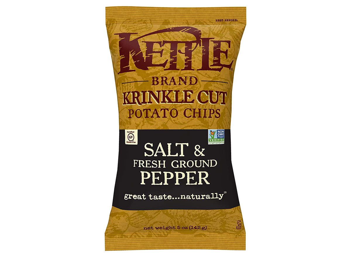kettle brand krinkle cut salt pepper