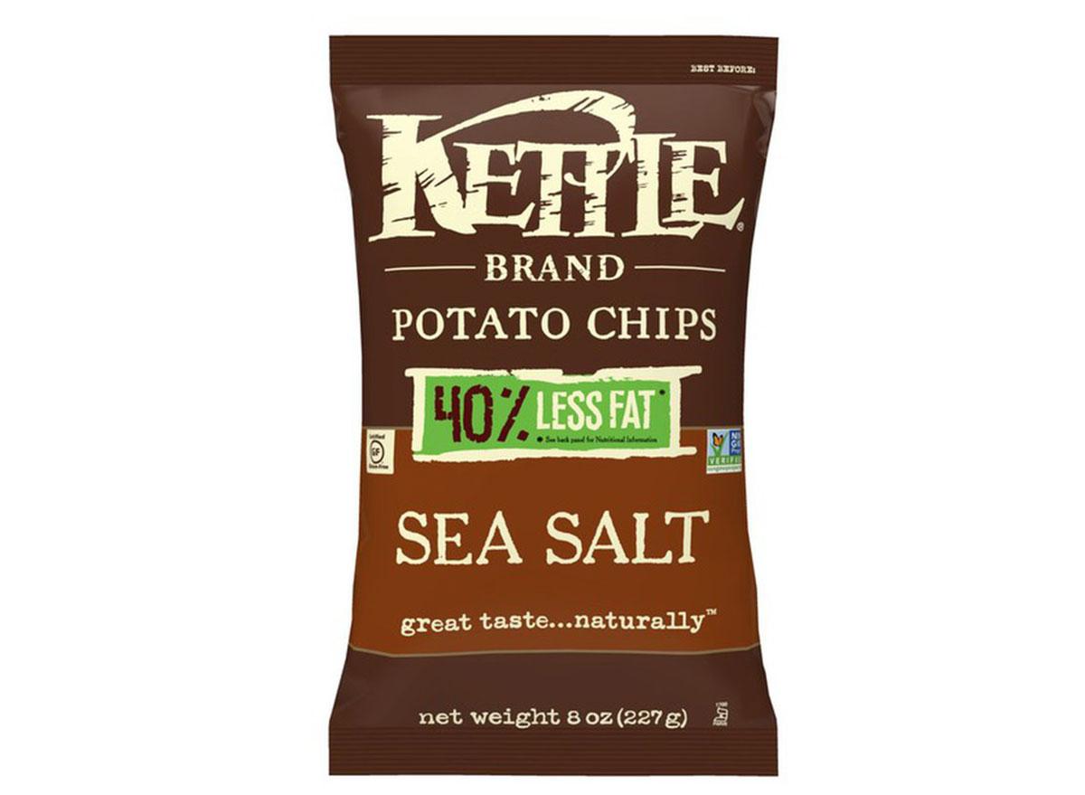 kettle brand sea salt less fat