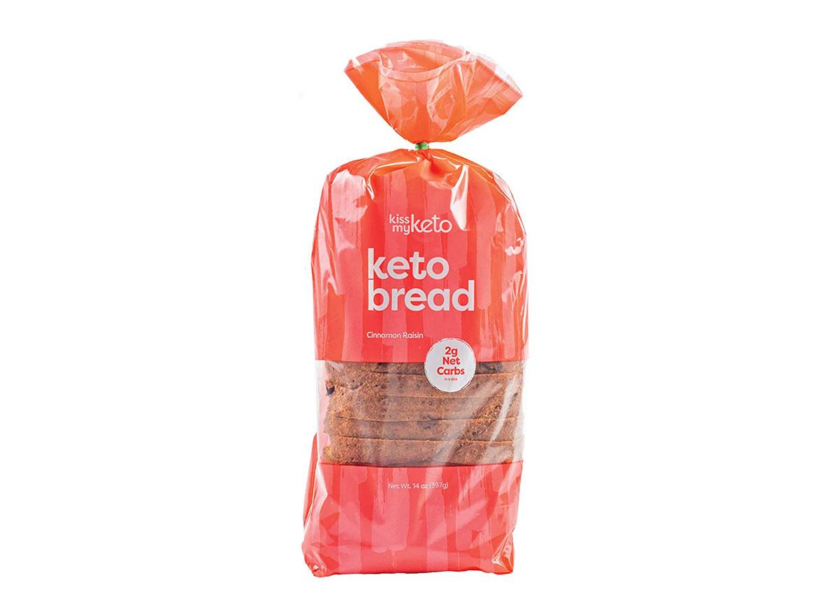 kiss my keto cinnamon raisin bread