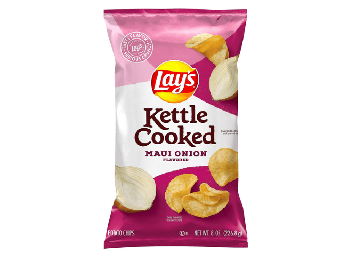 lays kettle cooked maui onion