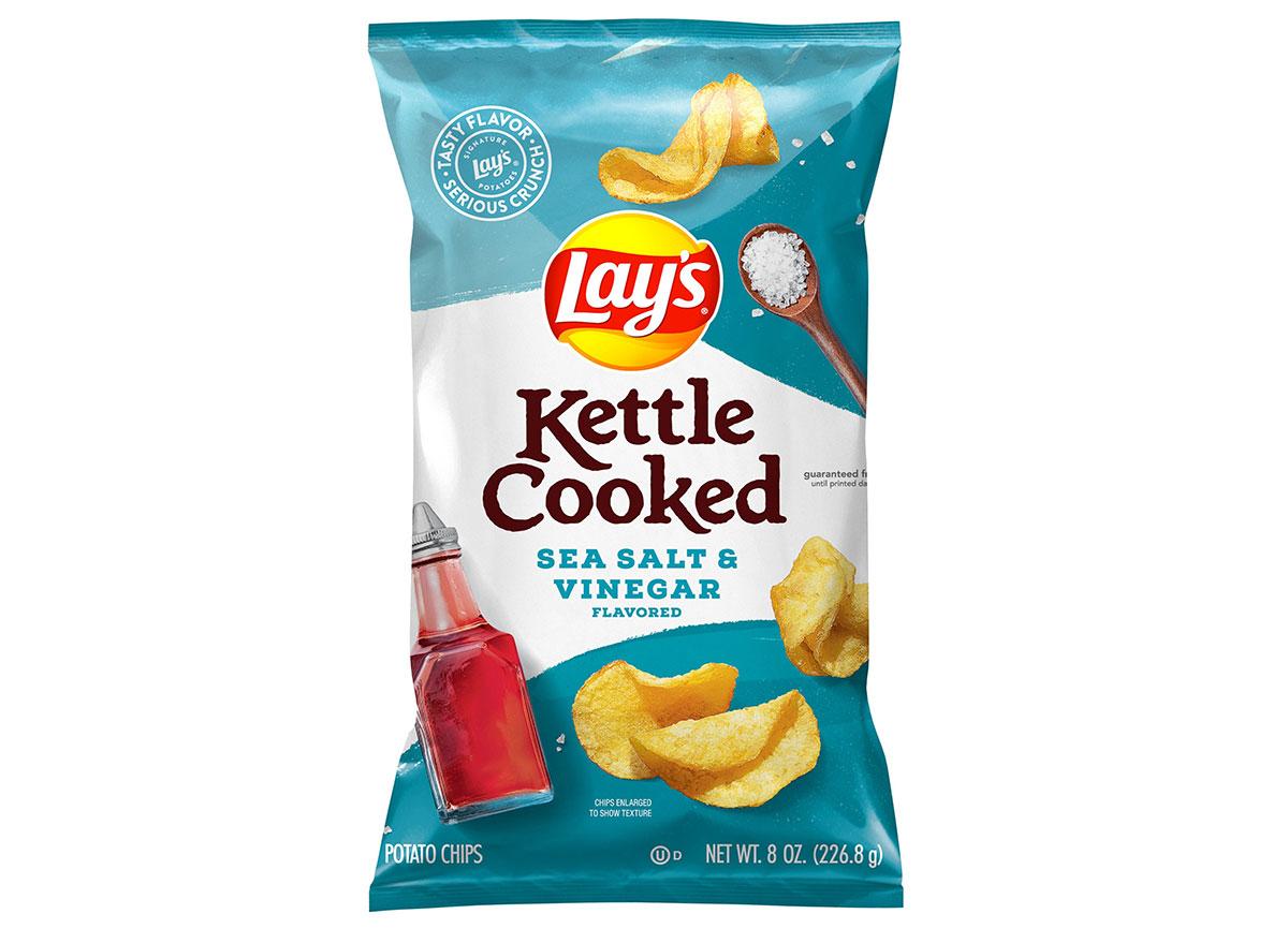 lays kettle cooked sea salt vinegar