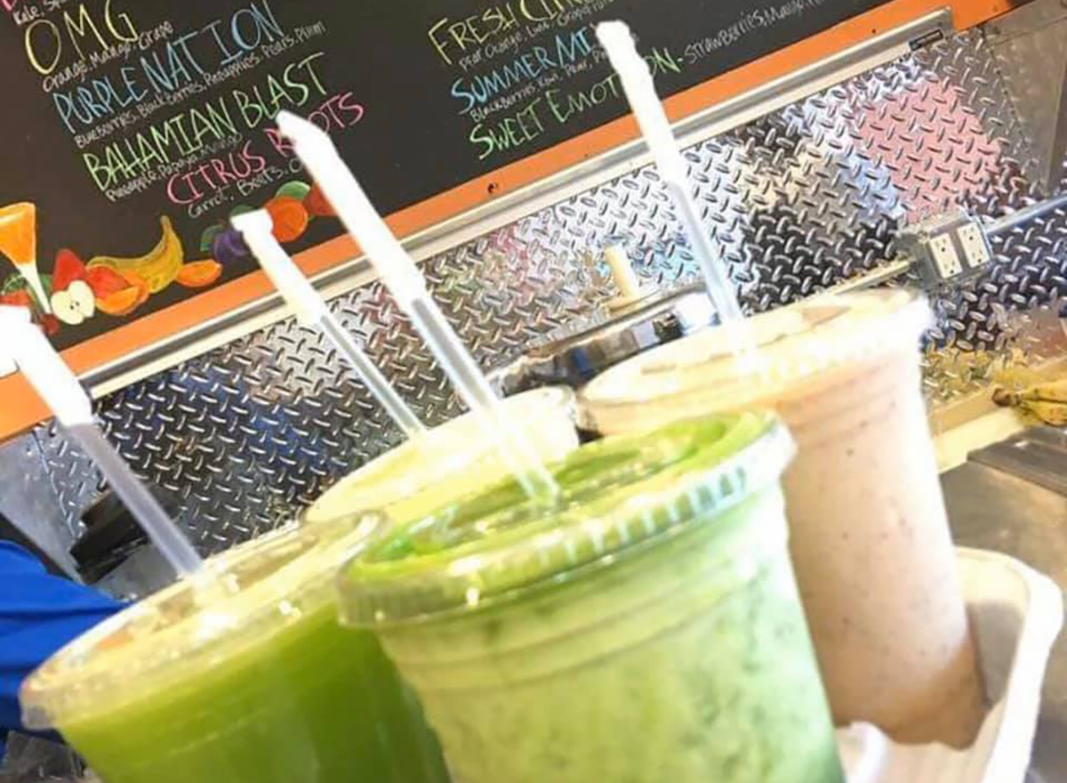green smoothies from lifestyle juices