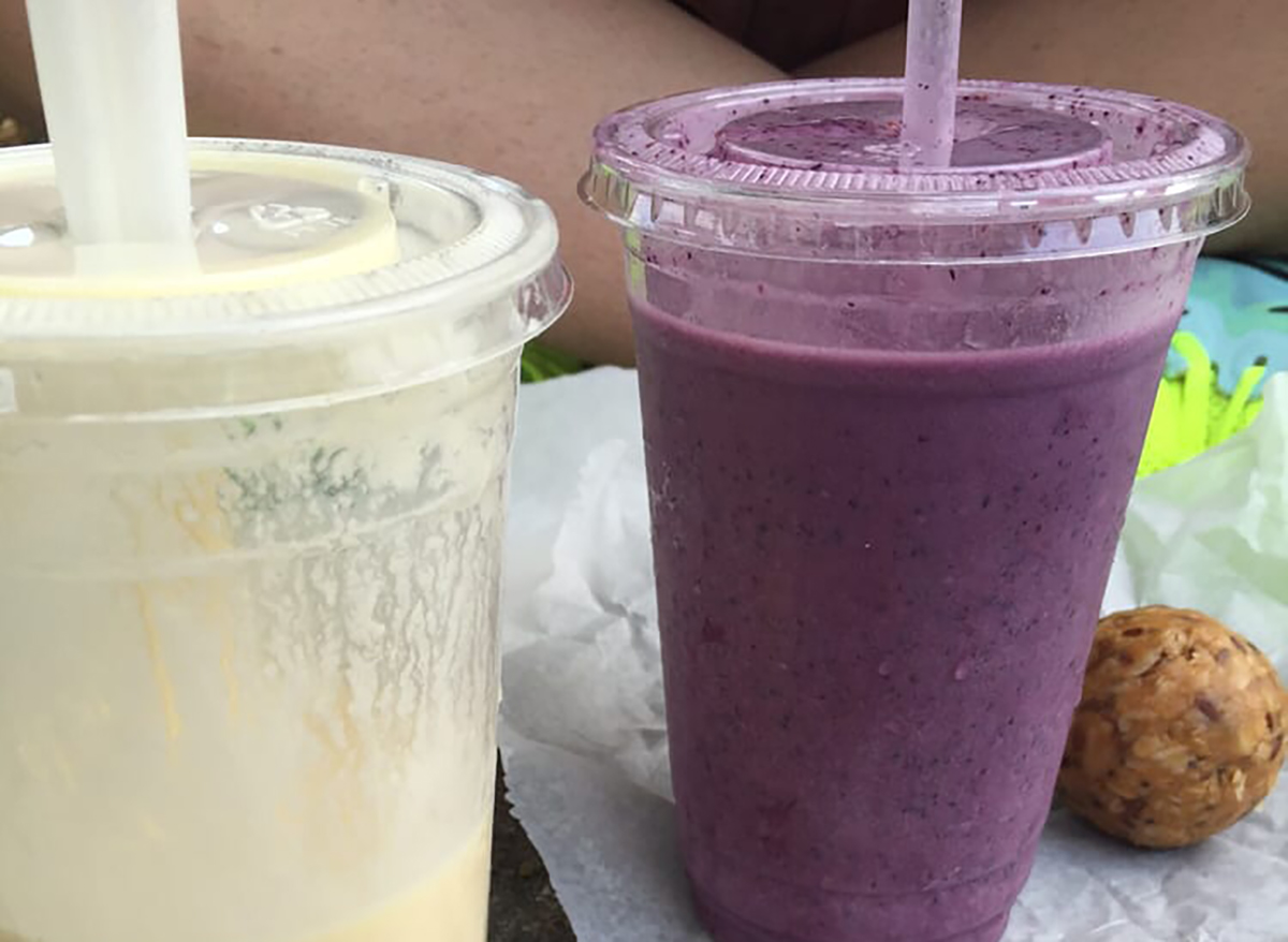 two smoothies