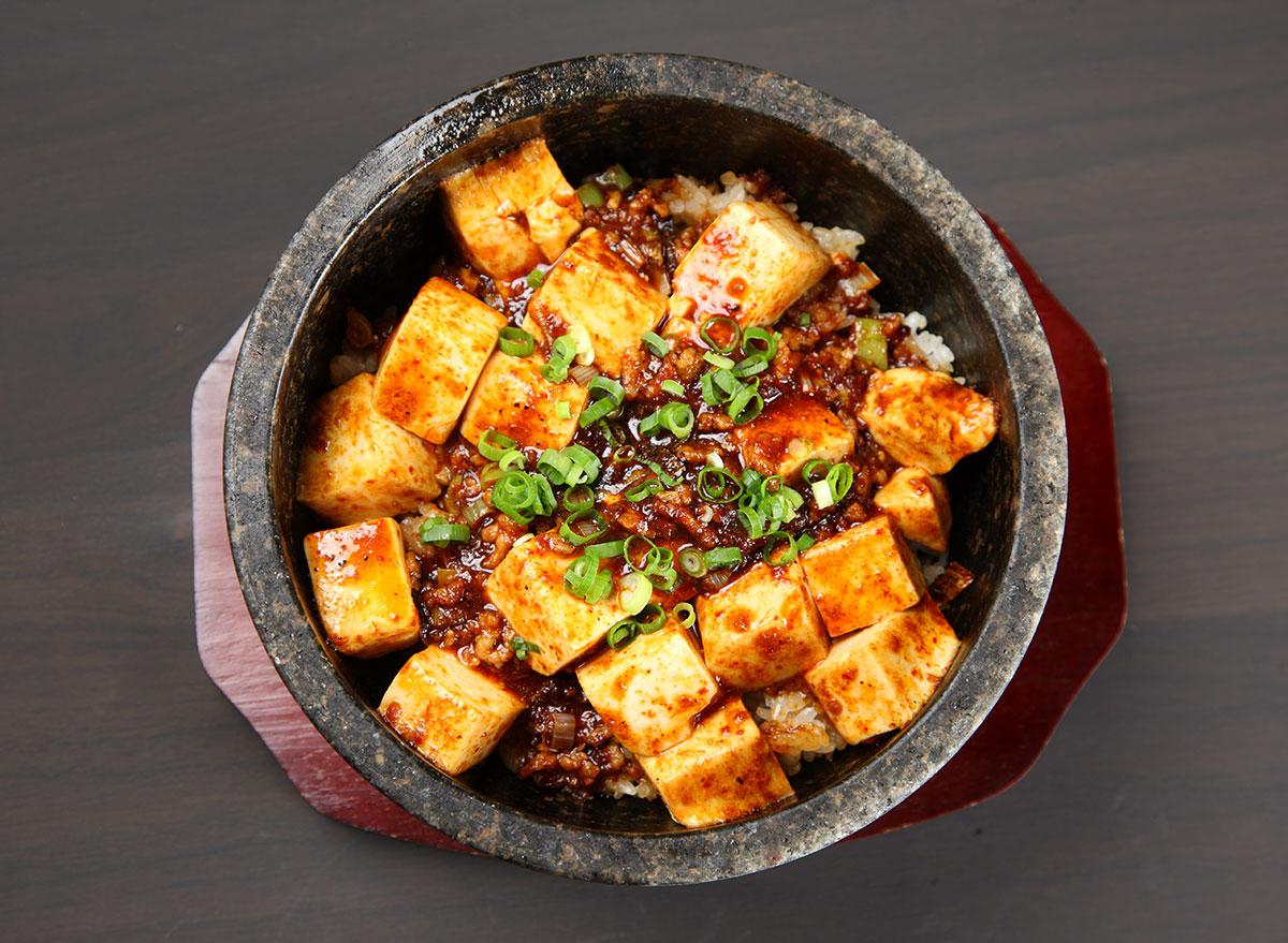 mapo tofu bowl