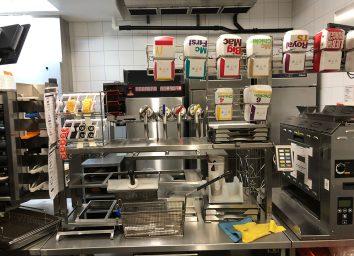 mcdonalds kitchen