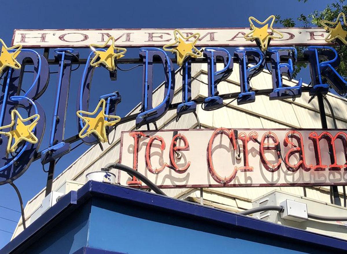 montana big dipper ice cream