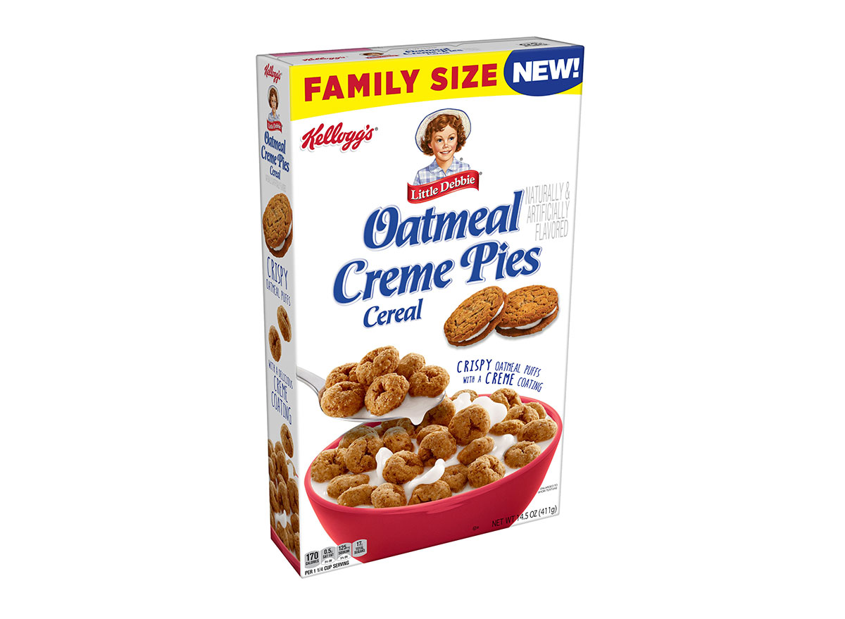 oatmeal creme pie cereal