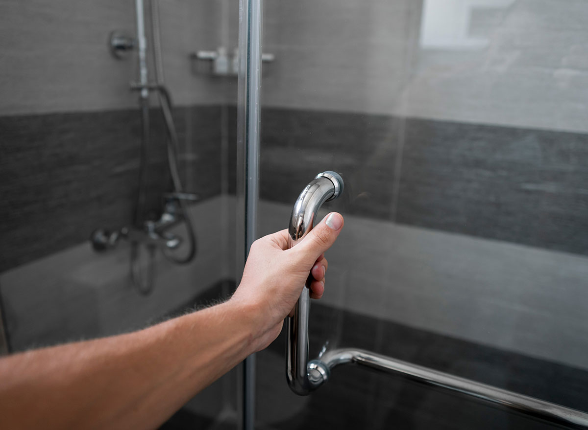 opening shower