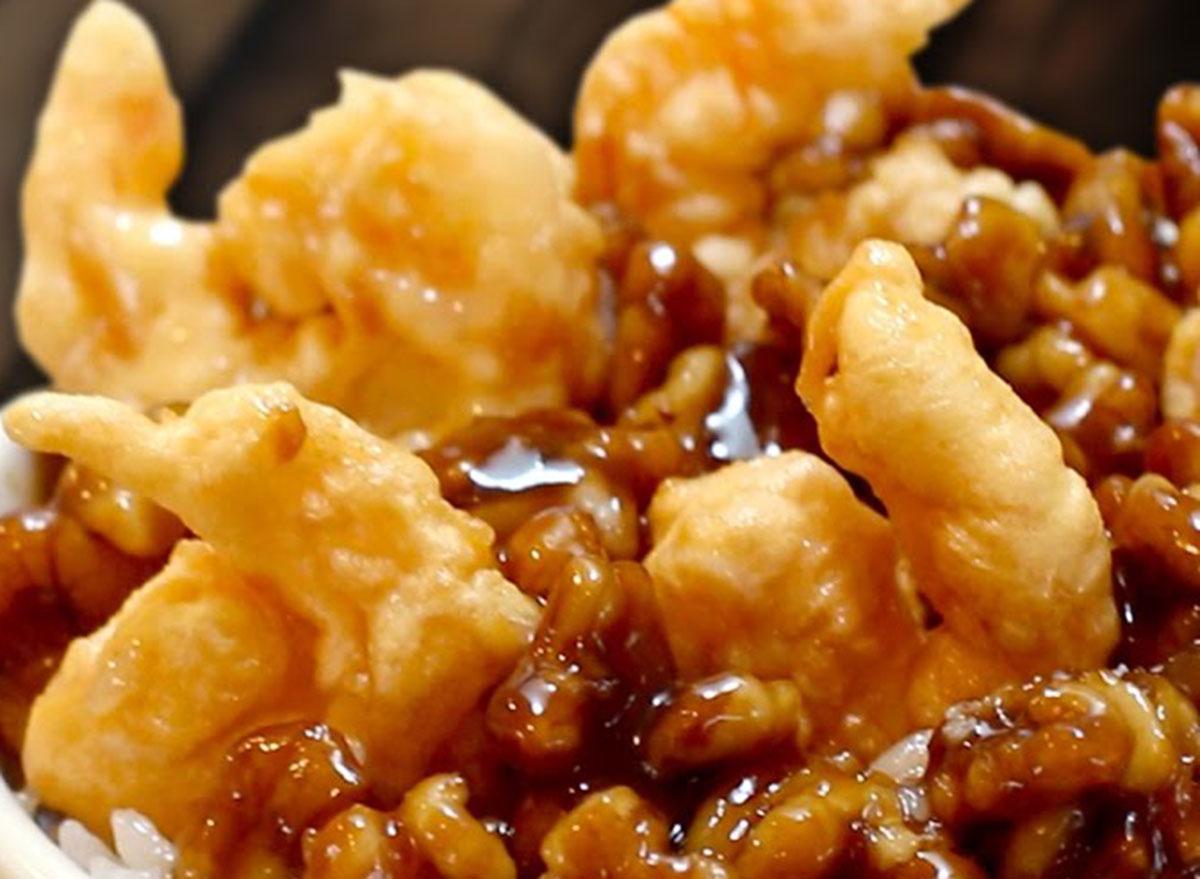 panda express honey walnut shrimp
