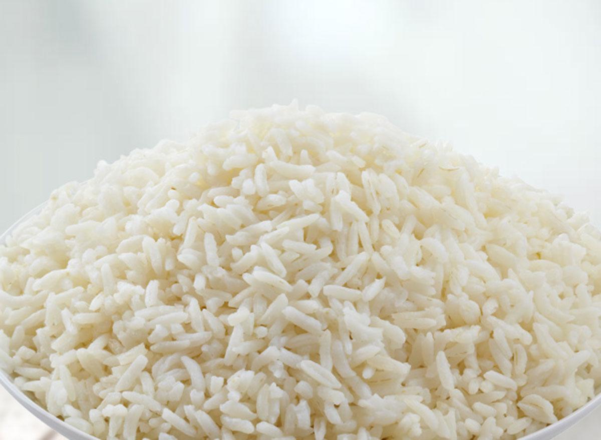 panda express steamed rice